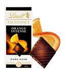 Lindt Excellence Orange Intense Chocolate Bar