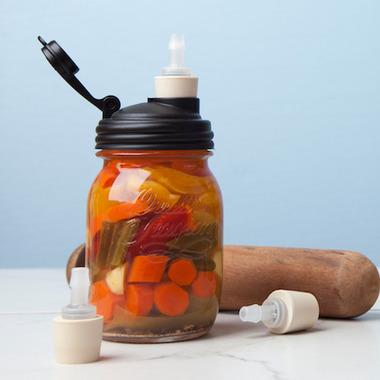 Recap Mason Jars Fermenters