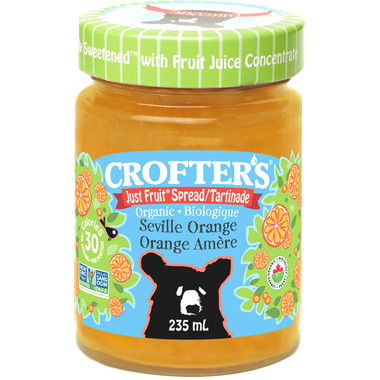 Crofter\'s Organic Seville Orange Just Fruit Spread