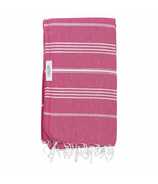 Lualoha Turkish Towel Classic Fuchsia