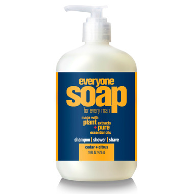 Everyone Soap for Men Cedar & Citrus