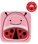 Skip Hop Zoo Tableware Melamine Plate Lady Bug Design