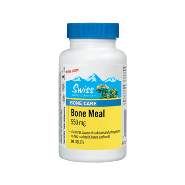 Swiss Natural Sources Bone Meal Tablets