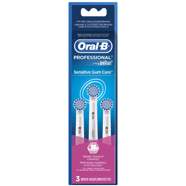 Oral-B Professional Sensitive Gum Care Replacement Heads
