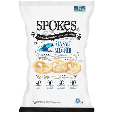 Spokes Snacks Sea Salt