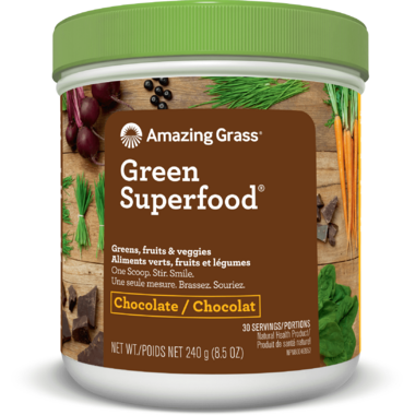 Amazing Grass Green Superfood Cacao Chocolate Infusion