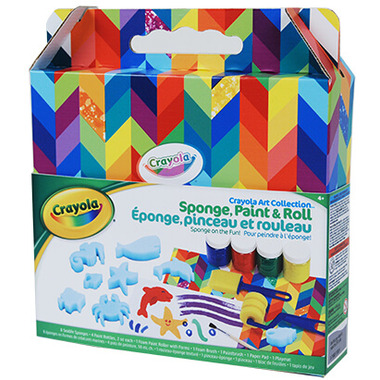 Crayola Sponge Painting Kit