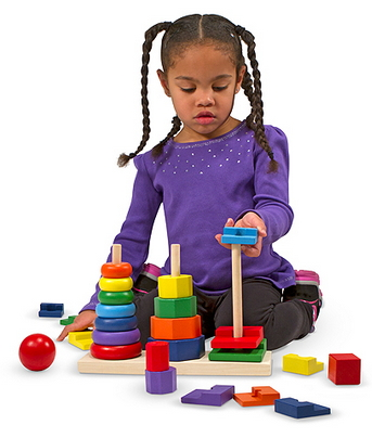 Buy Melissa Amp Doug Geometric Stacker At Well Ca Free