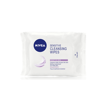 Buy Nivea Sensitive Cleansing Wipes 25 Wipes Online In