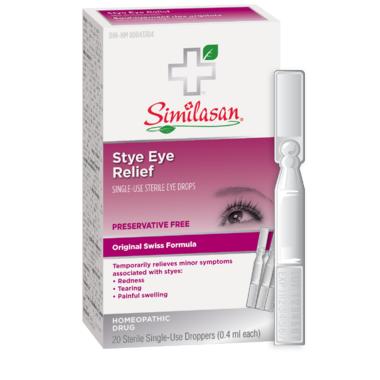 Similasan Stye Eye Relief Single-Use Droppers