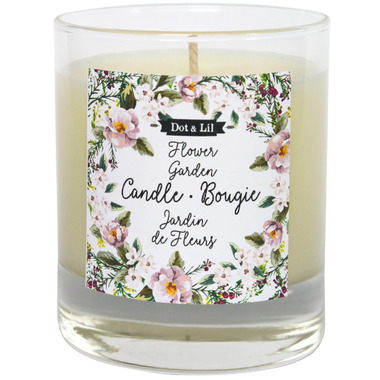 Dot & Lil Flower Garden Candle Honeysuckle