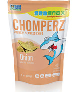 Sea Snax Chomperz Onion Seaweed Chips