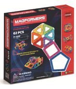 Magformers Rainbow 62 Piece Set