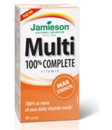 Jamieson Multi 100% Complete Vitamin Max Strength