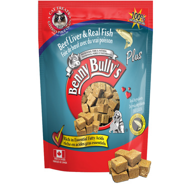 Benny Bully\'s Beef Liver Plus Fish Cat Treats