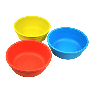 Re-Play Bowls Primary Red, Yellow and Sky Blue
