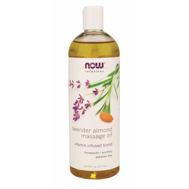 NOW Solutions Lavender Almond Massage Oil