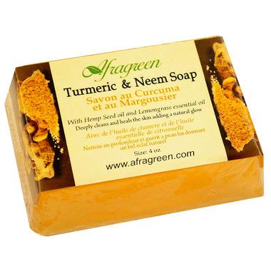 Turmeric soap