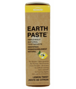 Redmond Earthpaste Amazingly Natural Toothpaste in Lemon Twist