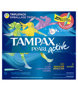 Tampax Pearl Active Tampons Regular