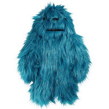 Hugglehounds Toy with Sole Large Blue Dog Toy