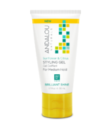 ANDALOU naturals Sunflower & Citrus Medium Hold Styling Gel Travel Size