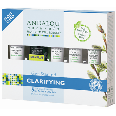 ANDALOU naturals Get Started Clarifying Skin Care Kit
