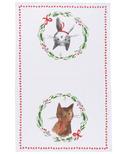 Now Designs Jingle Cat Dishtowel