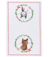 Now Designs Jingle Cat Dishtowel