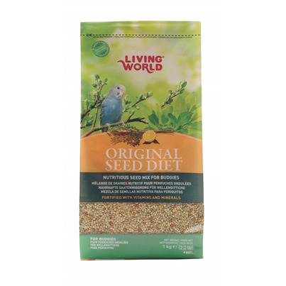 Buy Living World Original Seed Diet For Budgies 1 Kg 2 2