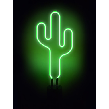 Amped & Co. Neon Cactus Desk Light