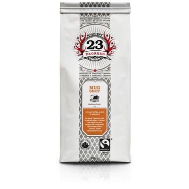23 Degrees Roastery Mugshot Whole Bean Espresso