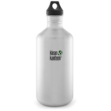 Klean Kanteen Classic Water Bottle Brushed Stainless