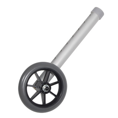 Drive Medical Walker Wheels with Dual Hole Adjustment Columns