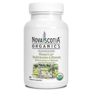 Nova Scotia Organics Women\'s 50+ Multivitamins & Minerals