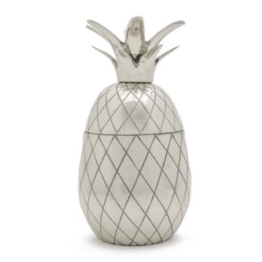 W&P Pineapple Tumbler Silver
