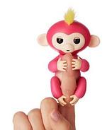 Fingerlings Baby Monkey Pink