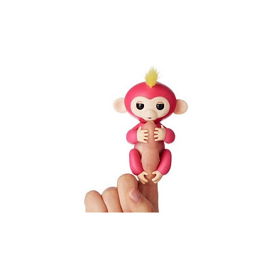 Fingerlings Baby Monkey Pink