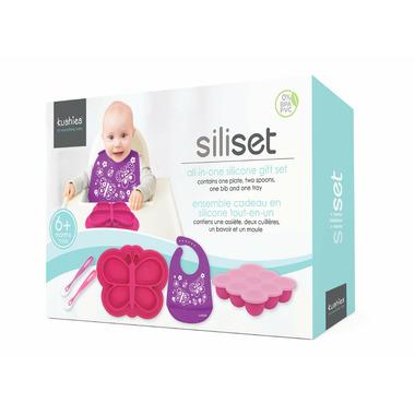 Kushies Siliset All-in-One Silicone Gift Set Girl