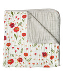 Little Unicorn Cotton Muslin Quilt Summer Poppy