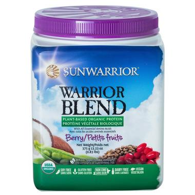 Sunwarrior Warrior Protein Blend Berry