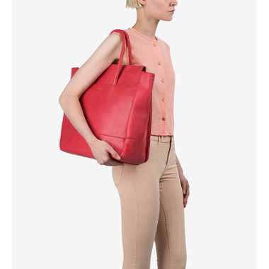 Matt & Nat Percio Diaper Bag Coral