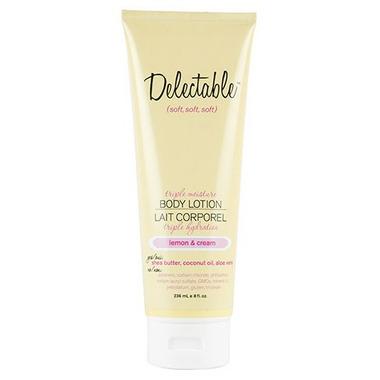 Be Delectable Lemon & Cream Triple Moisture Body Lotion