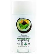 North Coast Organics Coconut Organic Deodorant