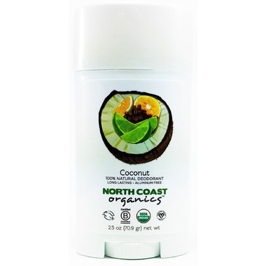 North Coast Organics Coconut Organic Deodorant