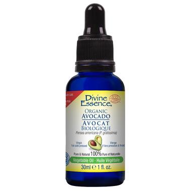 Divine Essence Organic Avocado Vegetable Oil