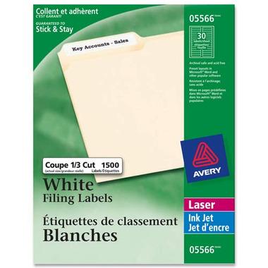 Avery File Folder Labels