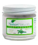 Nelson Naturals Colloidal Silver Remineralizing Toothpaste Fennel