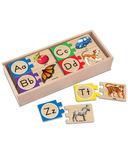 Melissa & Doug Self-Correcting Alphabet Letter Puzzles