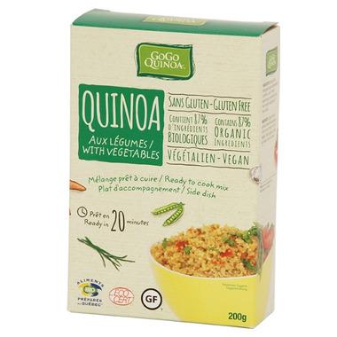 GoGo Quinoa Quinoa With Vegetables